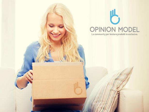 Opinion Model - La community per testare i prodotti in esclusiva