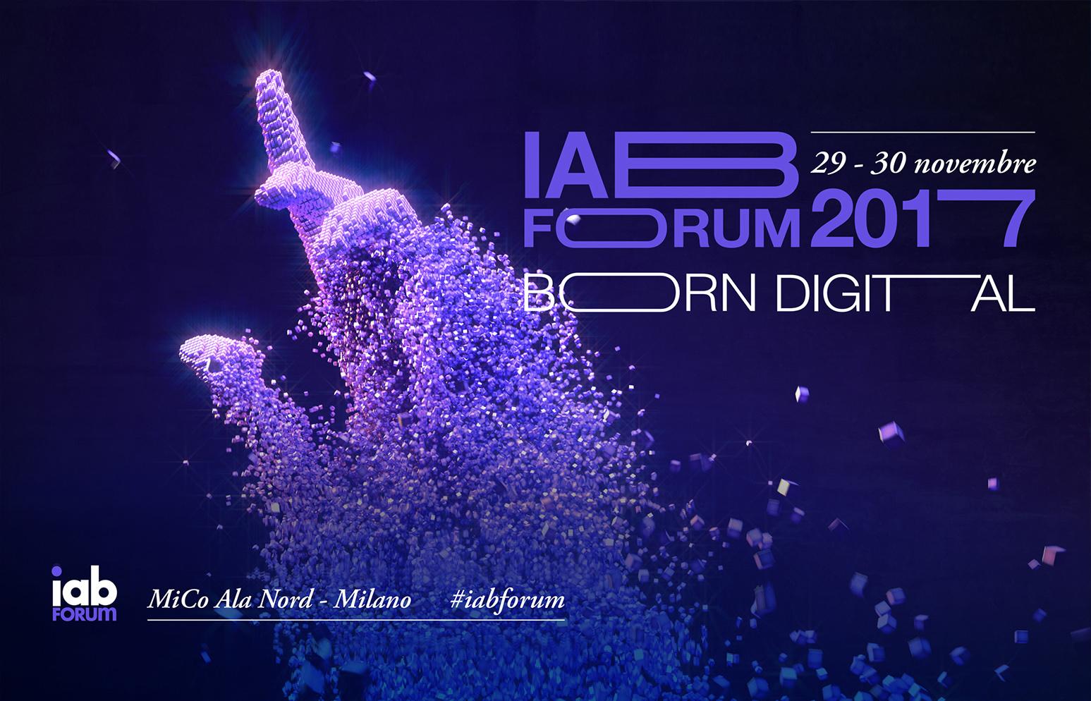 Locandina evento IAB Forum 2017