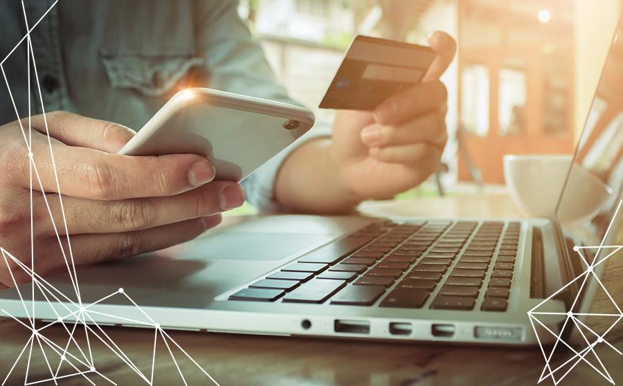 L'e-commerce cresce a doppia cifra