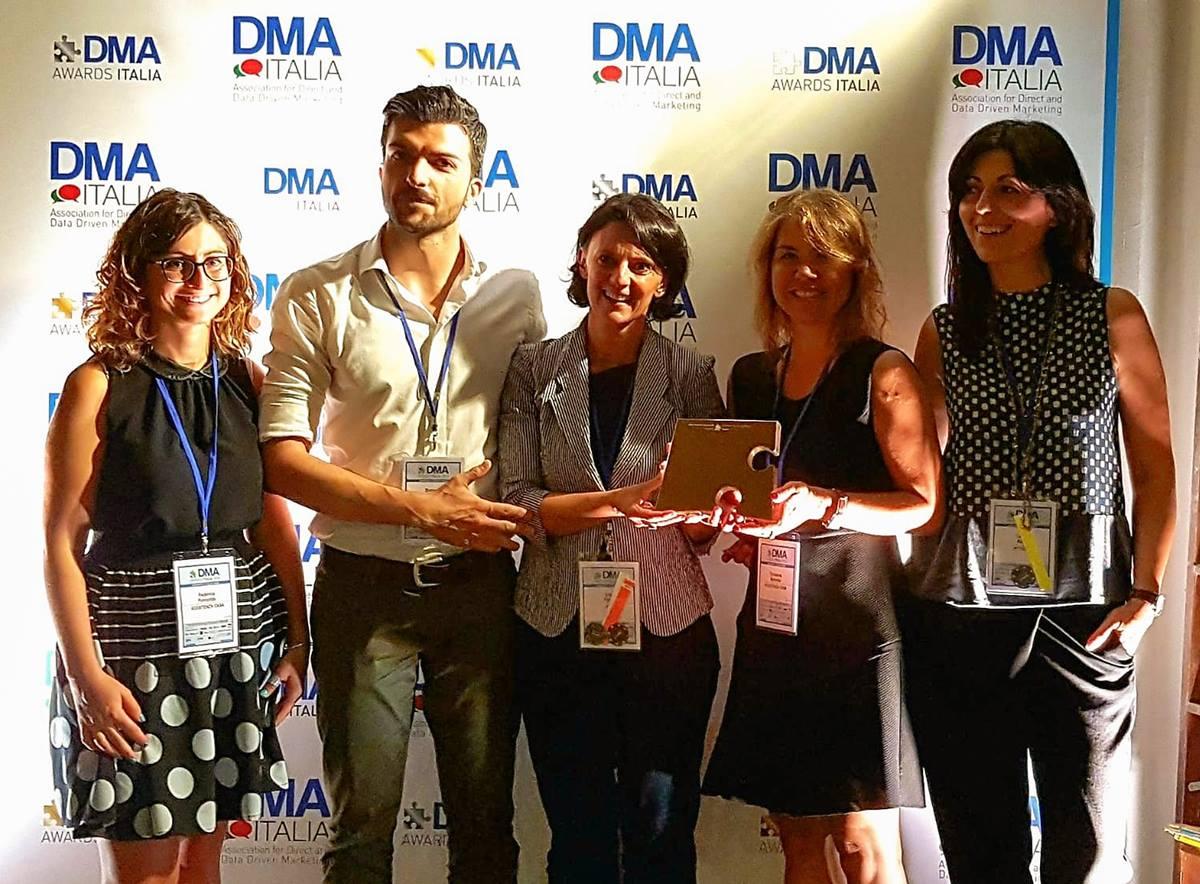 DMA Awards 2018 premiazione per Assistenza Casa